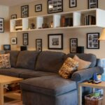 floating shelves behind sofa ideas bookshelf couch img living room contemporary corner shelving unit big shoe shelf ikea narrow cabinet black end supports decorative wrought iron 150x150