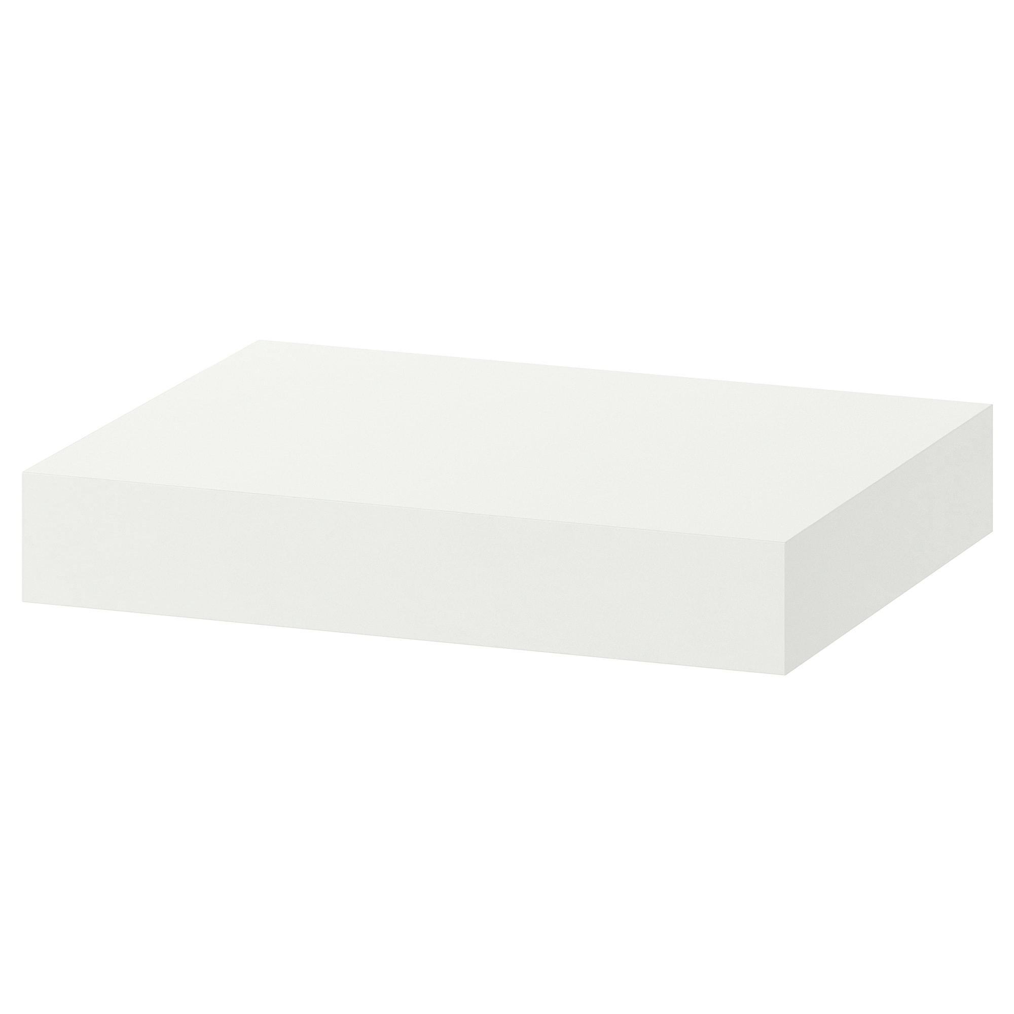 floating shelves ikea lack wall shelf white gloss the becomes one with thanks concealed mounting entryway mount bookcase towel storage cabinet shower bracket holder inch wood