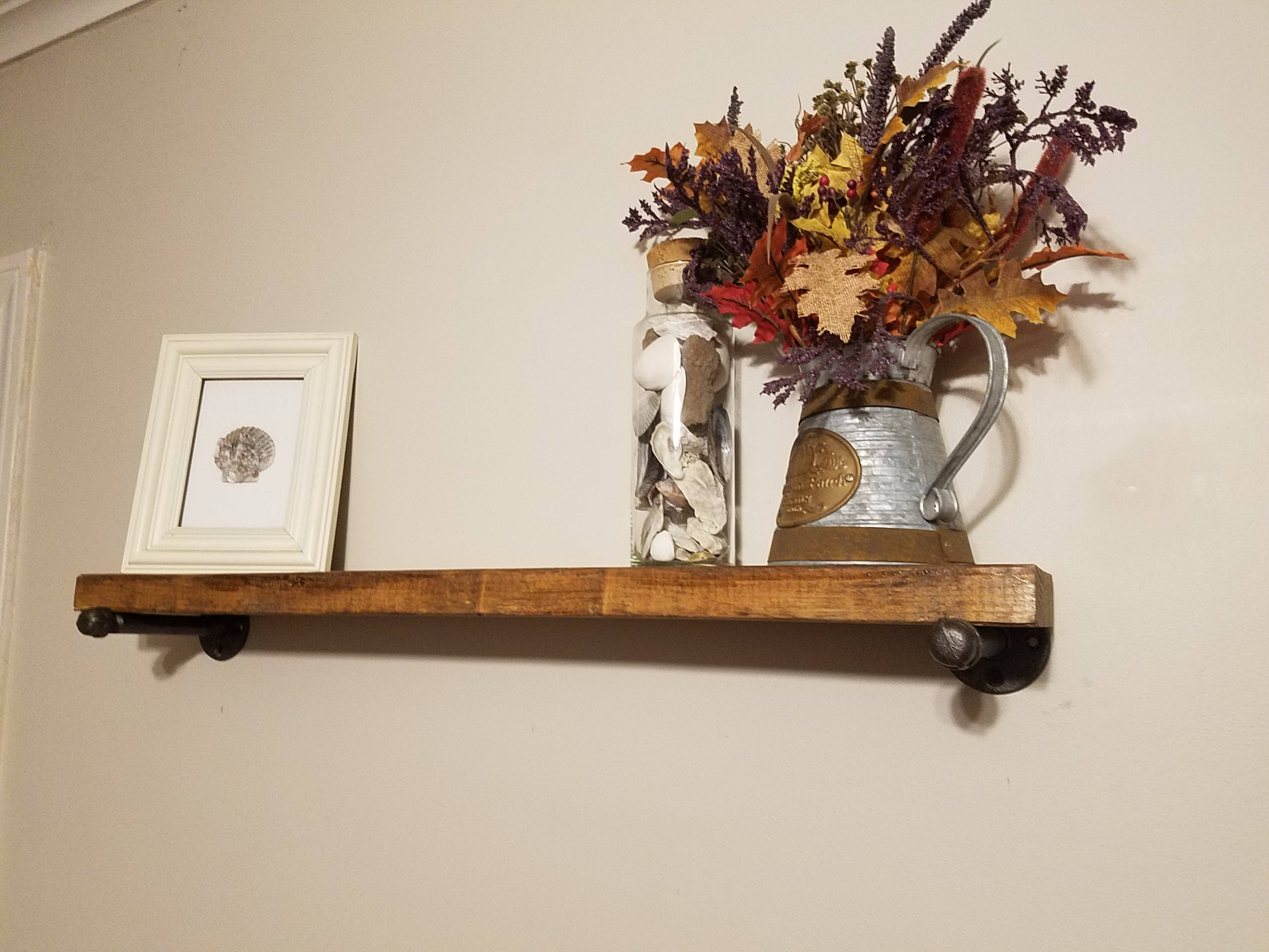 floating shelves inch deep industrial etsy fullxfull shelf wire brackets ikea peel and stick vinyl concrete sliding pantry canadian tire magic bag coat hook rack wood garage