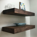 floating shelves kitchen walnut white oak mahogany etsy fullxfull black shelf sky box wall aluminium brass coat rack with and mirror for entertainment system open shelving metal 150x150