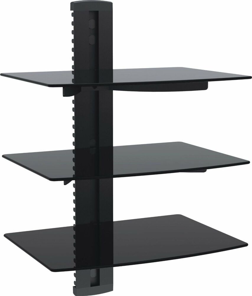 floating shelves large wall mount tempered glass accessories shelf details about dvd player usa with frames bookshelf desk oak wood fireplace mantels inch bathroom blue and white