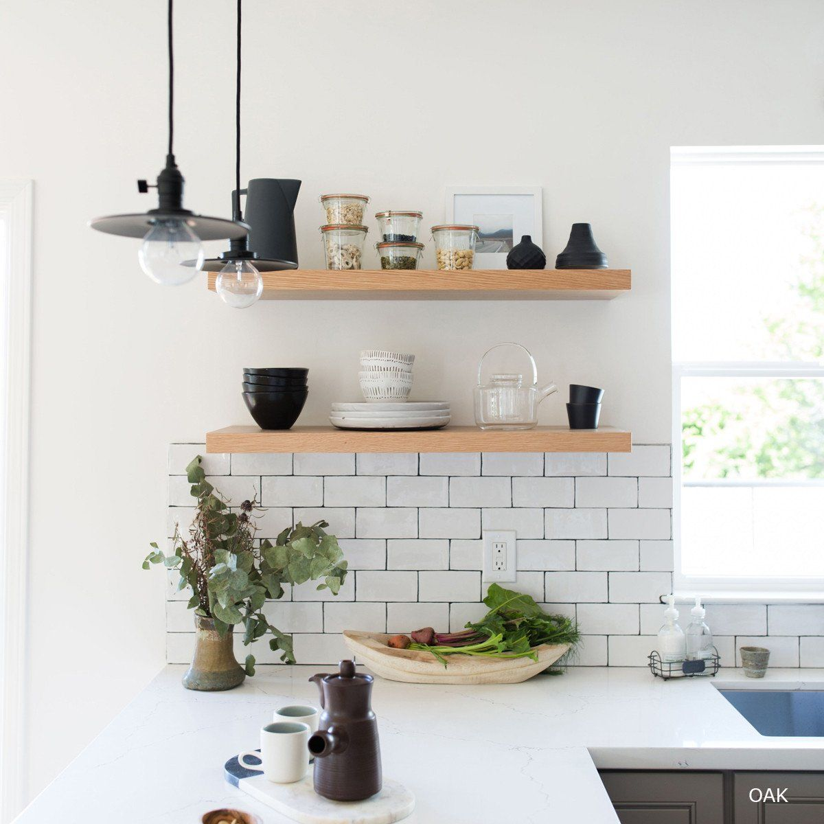 floating shelves oak loft kitchen wall shelving that delivers custom look bunnings chrome entrance coat hanger white cabinets steel racks shoe rack and wood bathroom vanity ideas