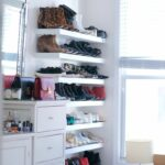 floating shelves perfect for storing your belongings interiors white shoes shoe shelving closet shelf with metal baskets hooks concealed systems espresso wall mounted coat rack 150x150