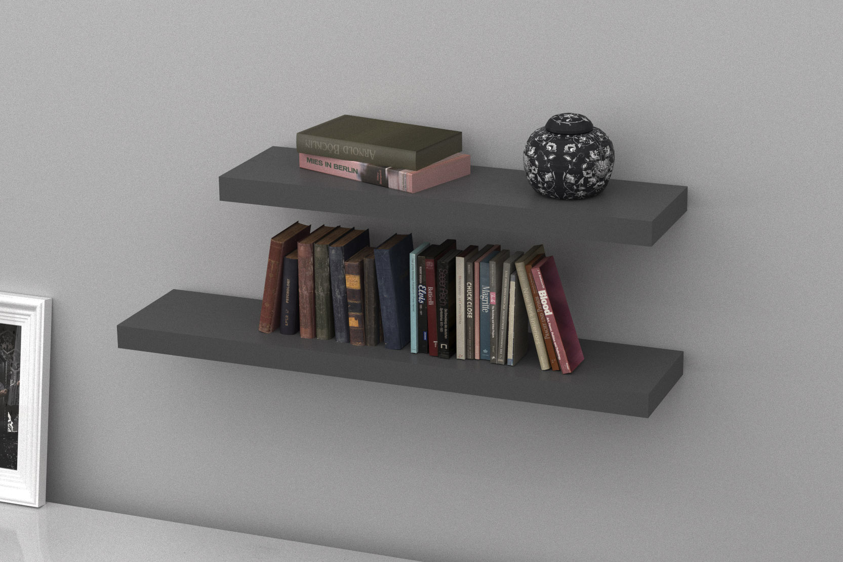 floating shelves the shelving stone grey double lengths black gloss shelf kitchen cabinet rack ikea decorating ideas old wood fireplace surrounds hacks men shoe organizer large