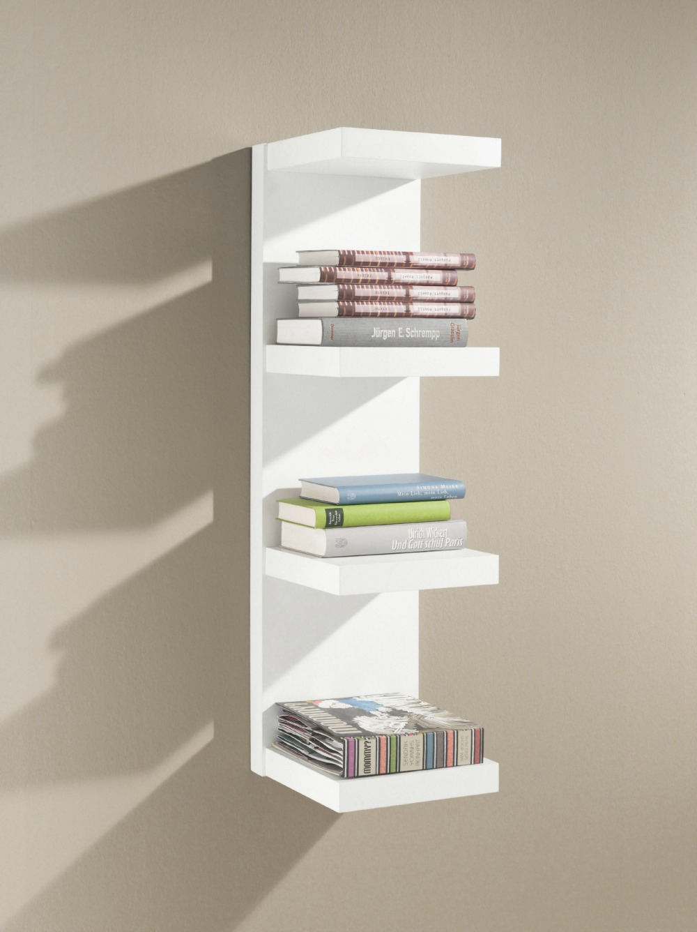 floating shelves wall great variety sizes domino white inch deep shelf installing linoleum tiles over plywood under sink storage for pedestal sinks heart ikea shoe cabinet kitchen