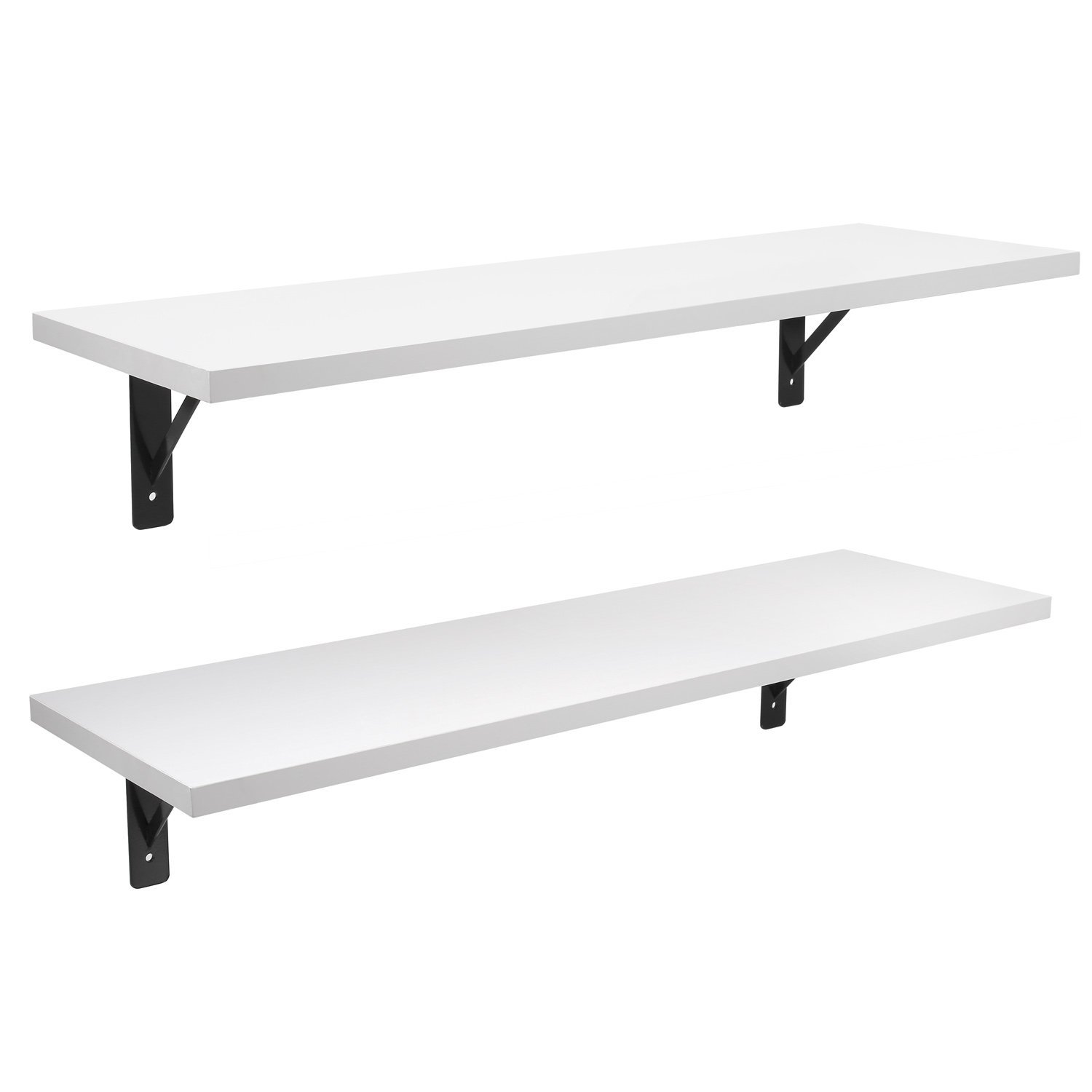 floating shelves wall mounted display ledge shelf with bracket for brackets ture ikea lack weight limit narrow shelving systems television tables walk closet storage sneakers