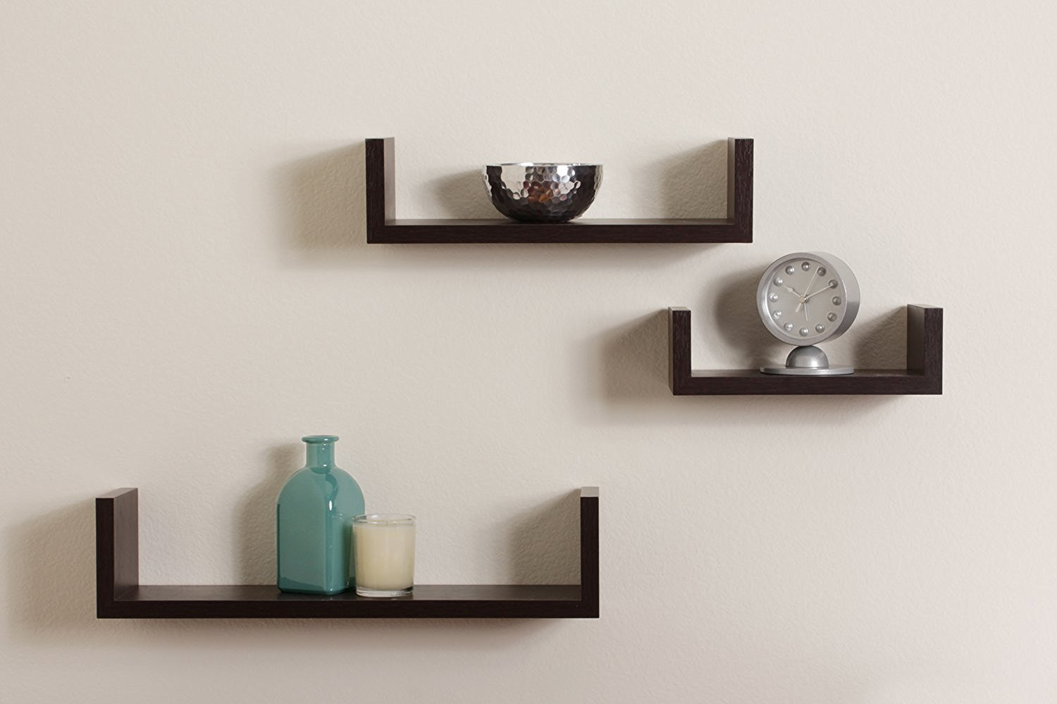 floating shelves wall pmpresssecretariat shaped black shelf ledge top review narrow bathroom storage garage brackets custom shoe audio video component rack closet solutions inc