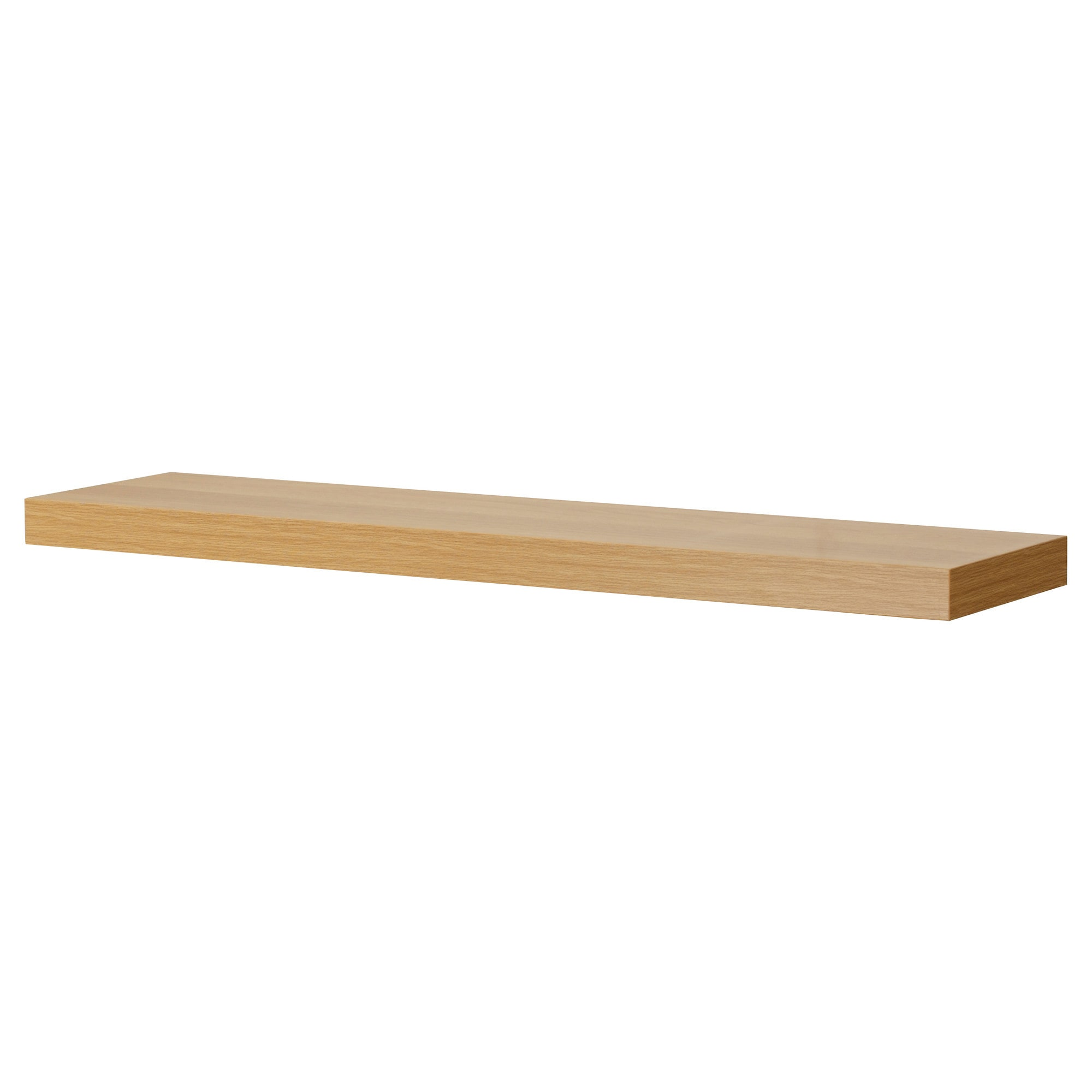 floating shelves wall shelf brackets ikea lack oak effect and the becomes one with thanks concealed mounting laminate kitchen countertop ideas bathroom towel brushed nickel