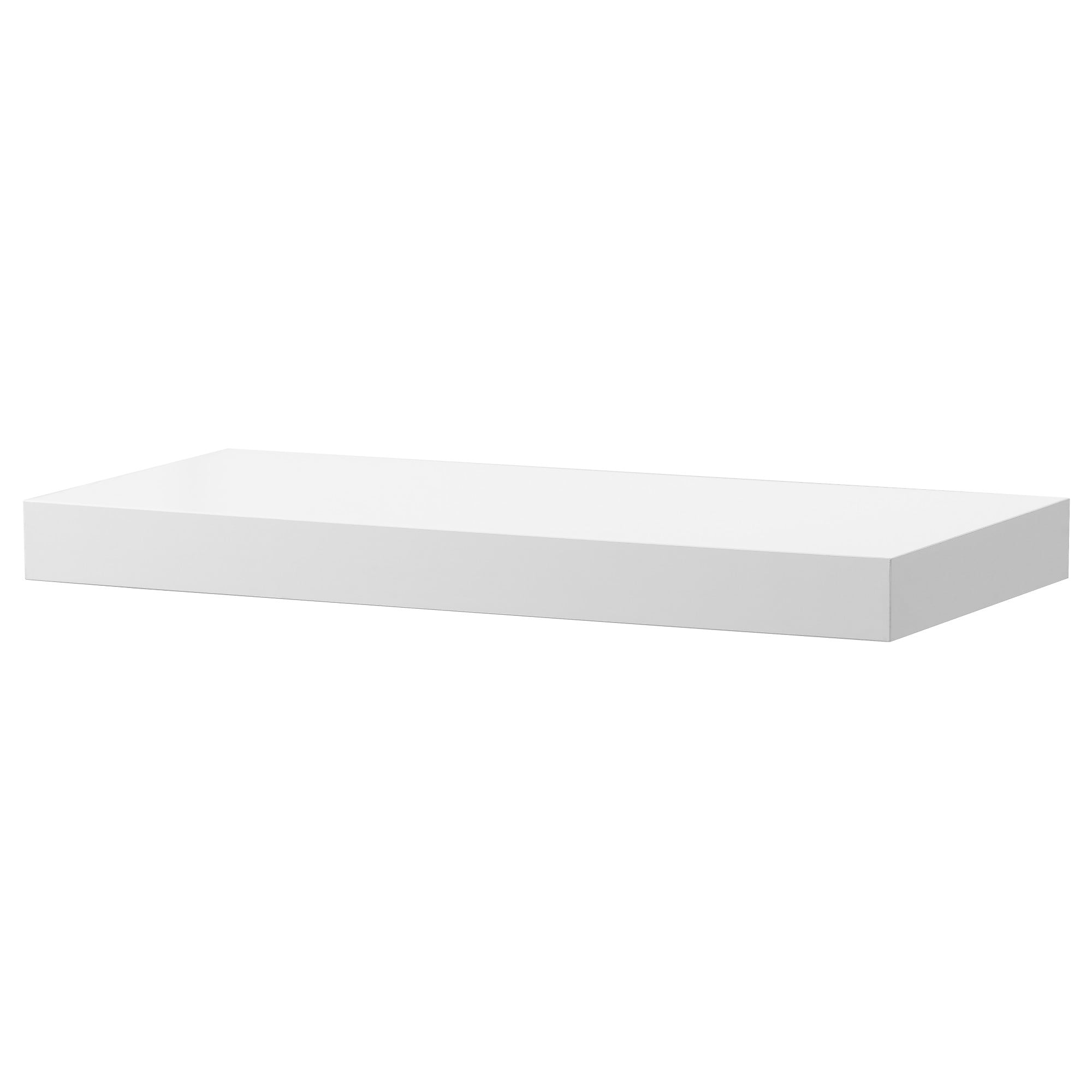 floating shelves wall shelf brackets ikea lack white high gloss black standard height space between counter and cabinets slotted metal ture canadian tire tile app vanity small