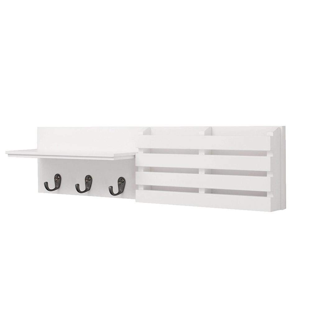 floating shelves white wall shelf and mail with hooks holder inch storage for bedroom living room material hanging ikea bathroom corner anchors bookshelves kitchen cabinet extra