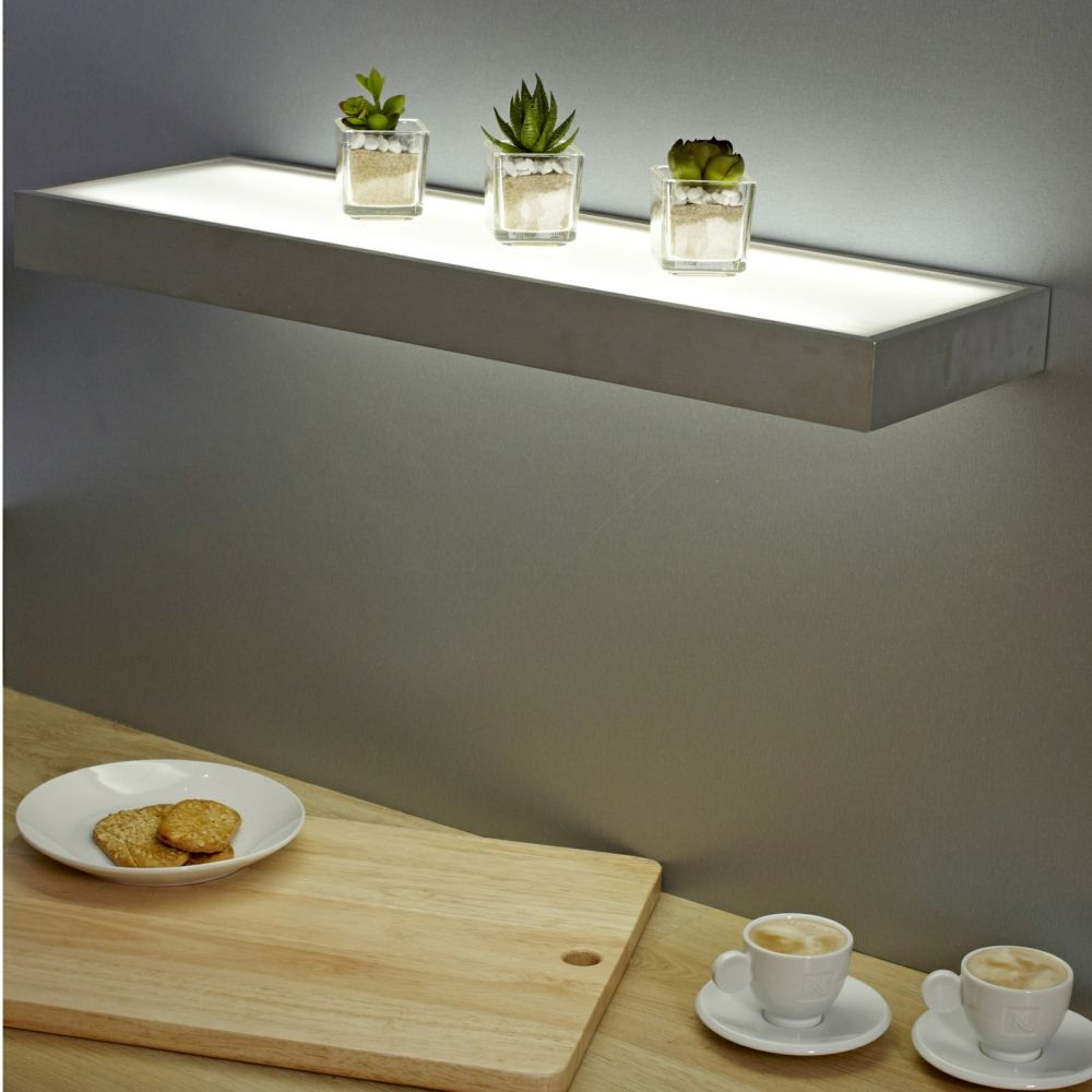 floating shelves with lights corner shelf led light bunnings wall brackets dining table canadian tire installing stick vinyl flooring coat racks and stands ikea shelving unit foot