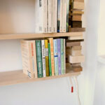 floating shelves with wooden block bookends homebnc unique diy ideas shelf gold corner bookshelf custom storage plastic expedit unit tesco white kitchen island breakfast bar 150x150