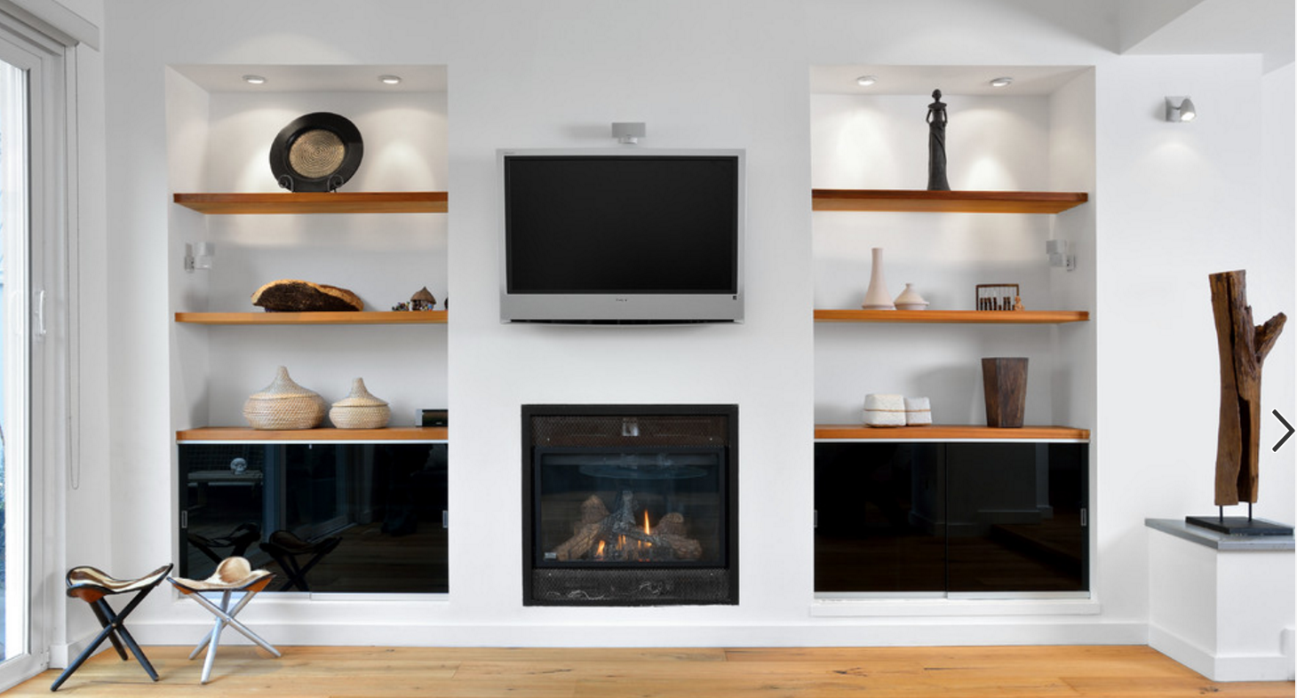 floating sleves more modern sleek fireplace combo hnb great room houzz shelves living storage bench hooks inch wide wall shelf ikea for cable box kitchen cart wheels glass floor
