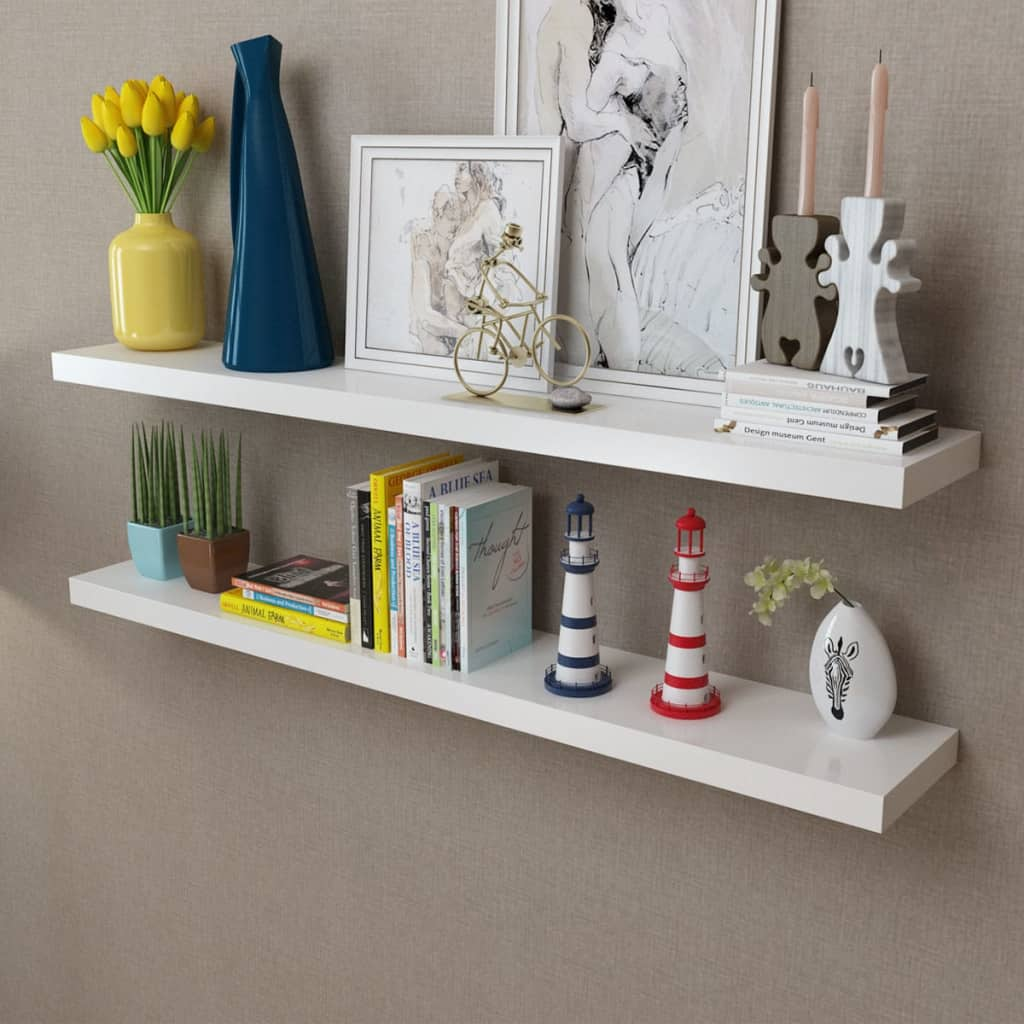 floating wall display shelves bookshelf storage unit home details about living room decor preparing floor for self stick vinyl tiles oak shelf cube media center furniture down