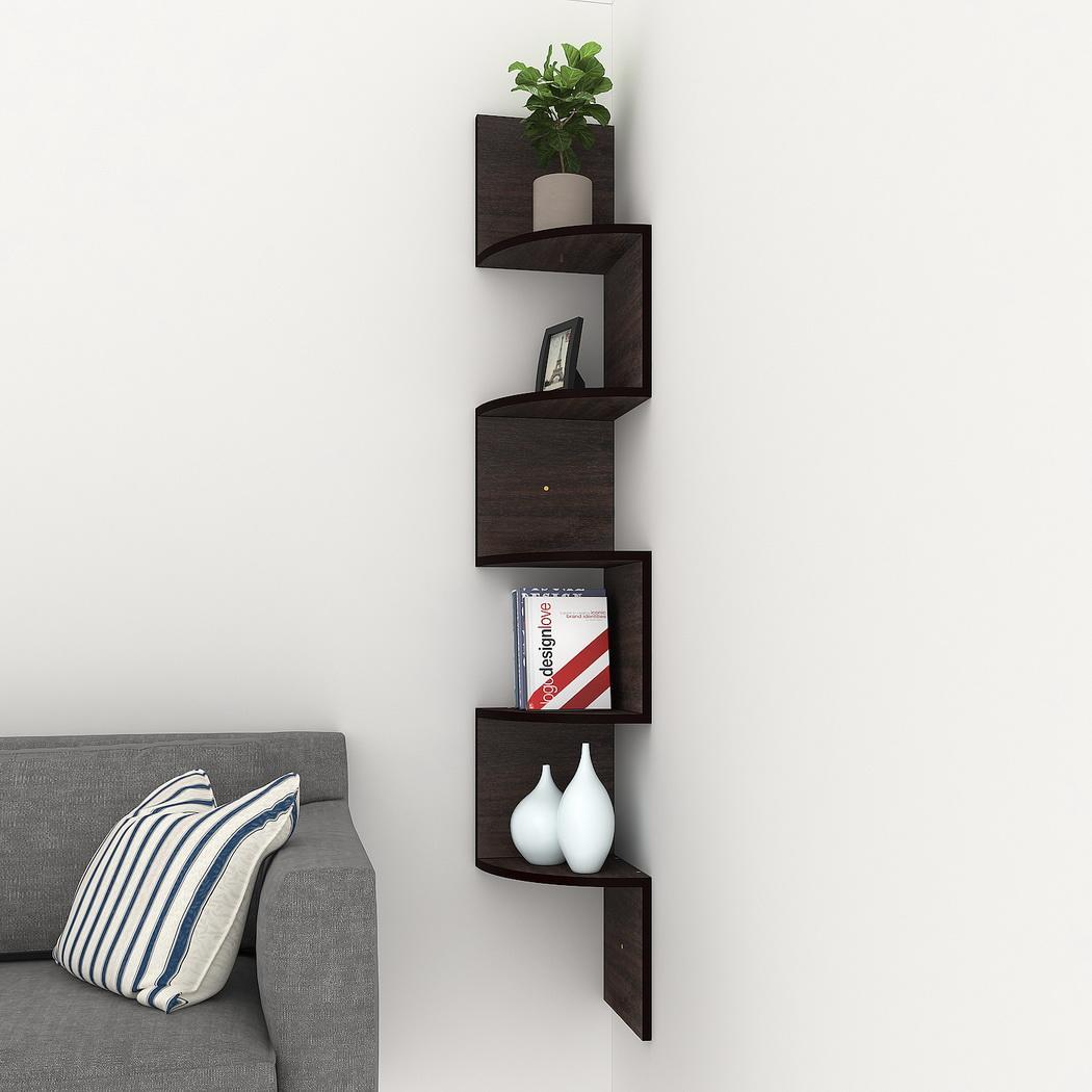 floating wall shelf display wood storage corner shelves mount home mounted details about decorative component ikea cube dvd player bracket target turntable industrial shelving