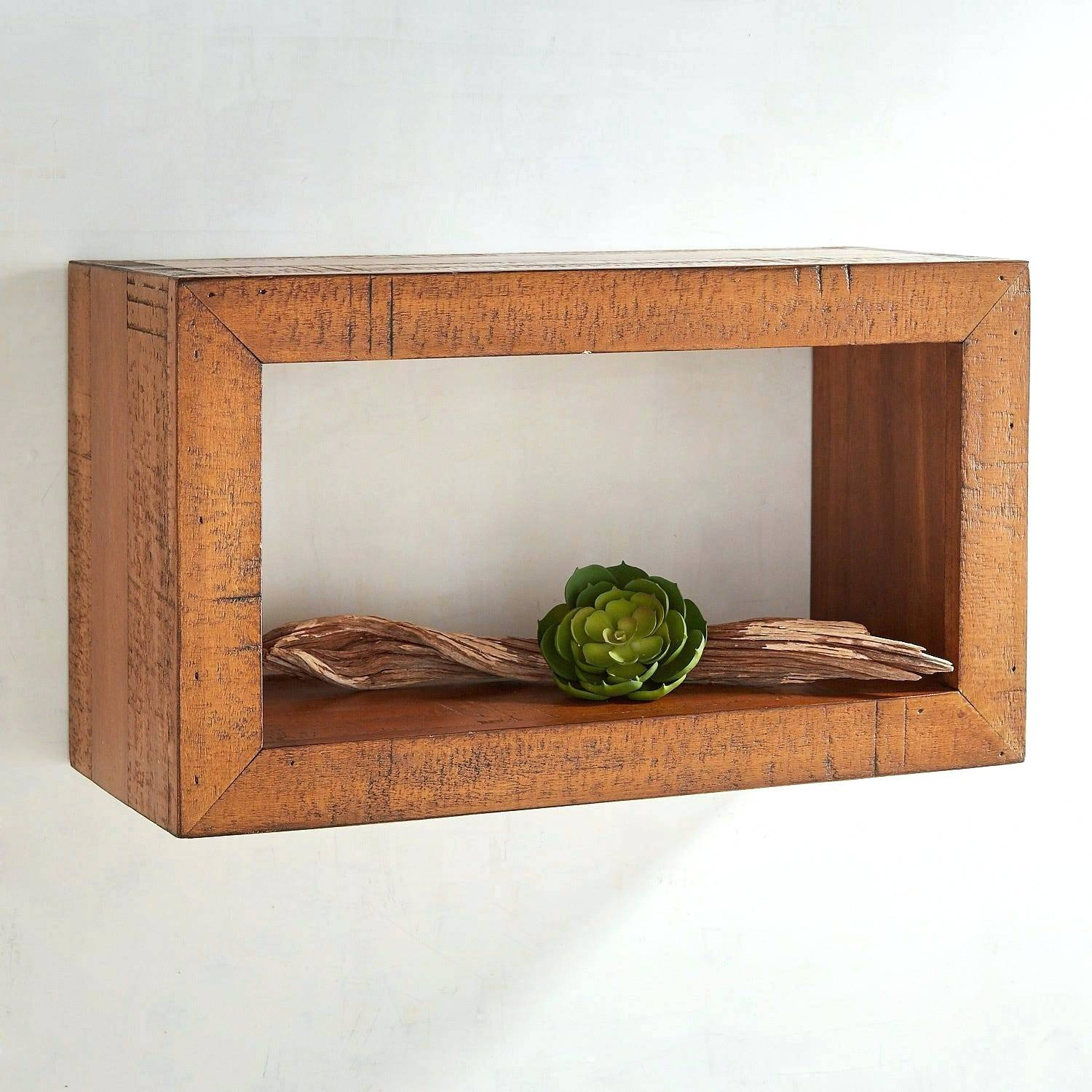 floating wall shelves rustic wood save this item target shelf height above desk kitchen counter storage racks oak mantel pottery barn entertainment small pine unit unusual dark