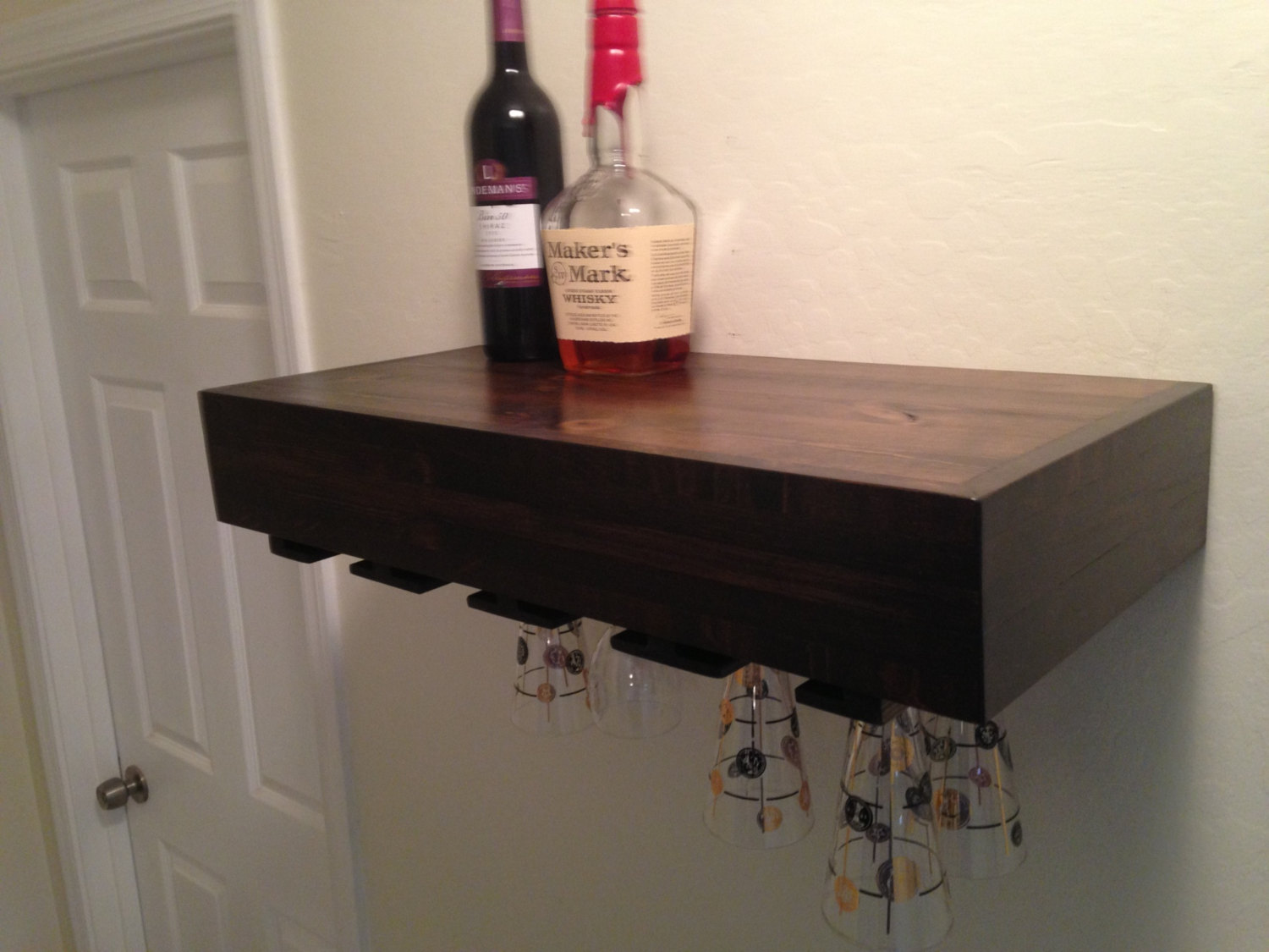 floating wine glass shelf brilliant shelves rack designs intended for edmonton portable kitchen islands with breakfast bar office table bookshelf cal king frame arrangement most