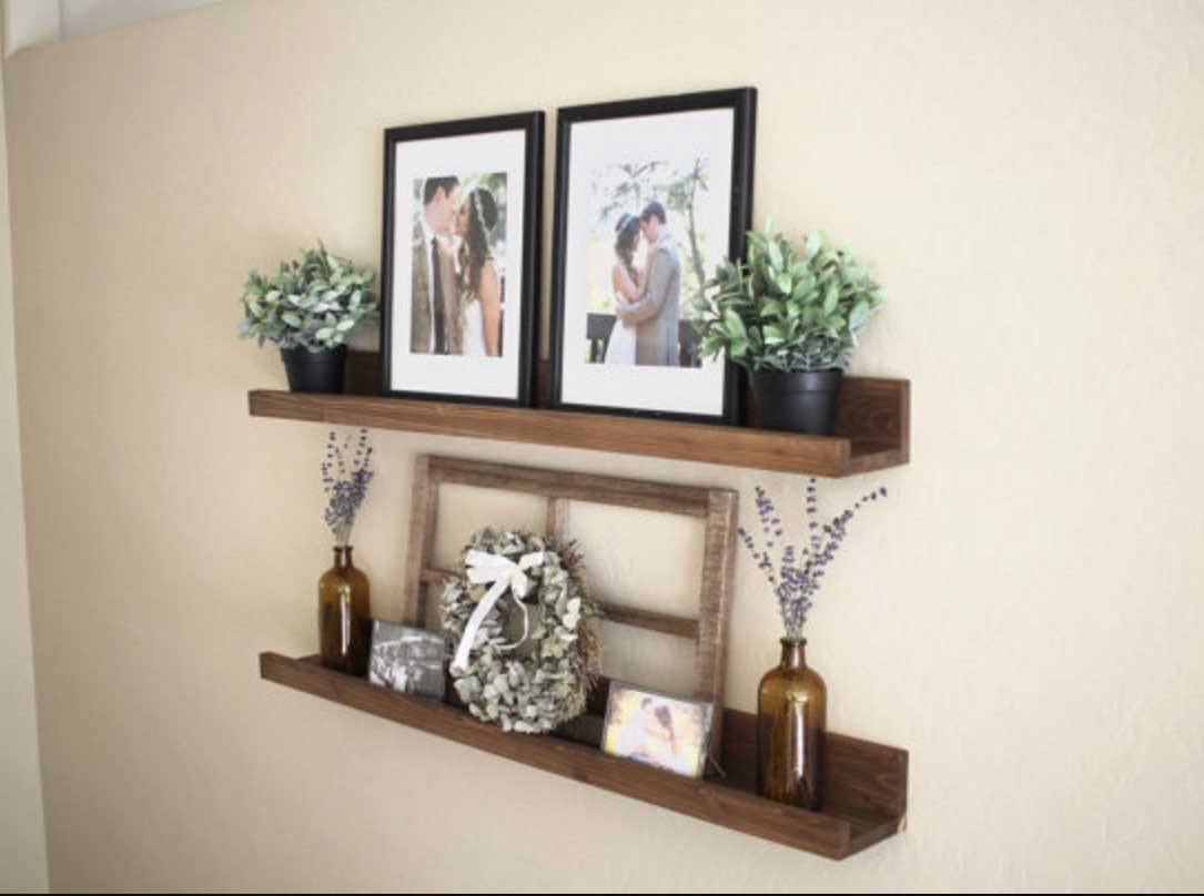floating wood shelves modern wall target architecture pottery barn ture ledge shelf installation instructions rustic with eye catching display home wooden crown molding depot diy