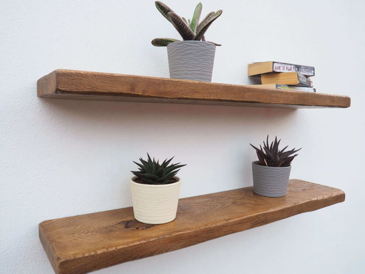 for rustic shelves oak floating roof shelf sky box our have hand distressed edges and textured surface giving the appearance centuries old piece reclaimed timber build shoe rack