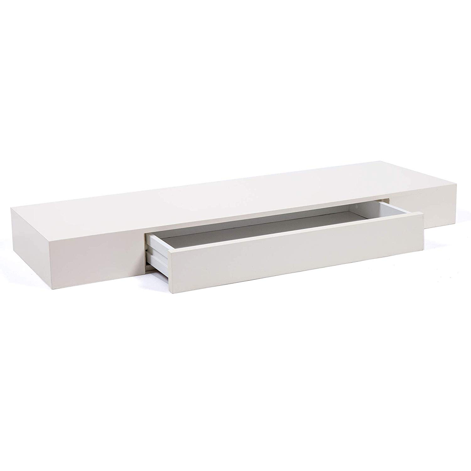 form chunky floating shelf drawer wall mounted bracket glossy with white display box storage shelving kitchen home ikea side table hidden gun case cable brackets wood plank