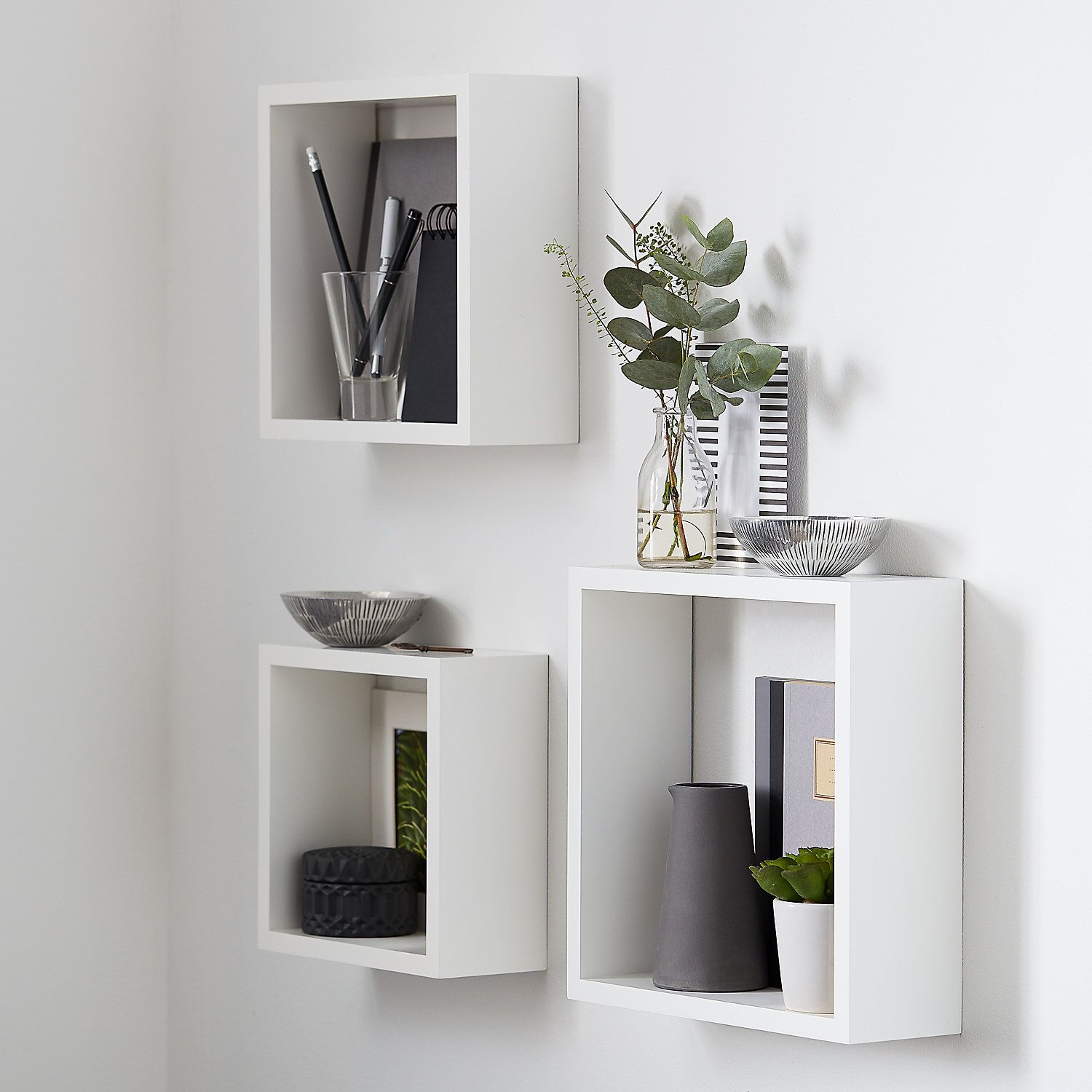 form rigga white cube shelves set floating shelf with drawer kitchen cabinet can storage hall stand ikea office closet shelving computer desk side table linen spacing cable wall