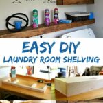 freshen your laundry room with this easy diy floating shelf shelves project learn how build for storage drawers kitchen open design glass window ikea malm tall slim shoe bar and 150x150