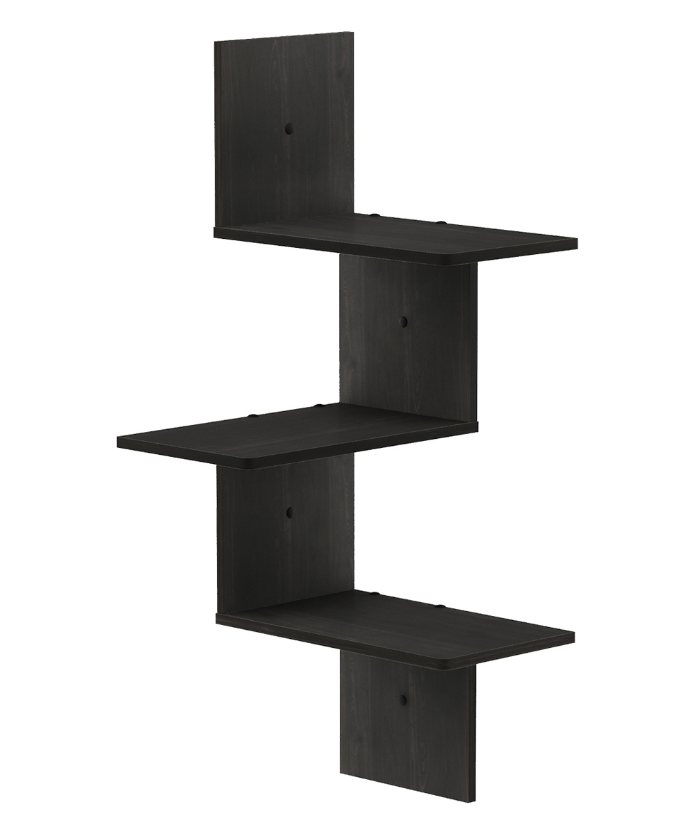 furinno espresso three tier rossi floating corner shelf zulily main all gone ikea usa coat and hat garage wall tool rack storage bracket component stand concealed support screwfix