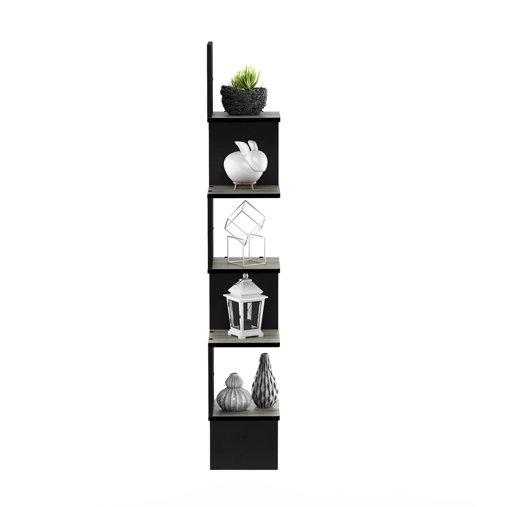 furinno tier french oak grey black wall mount floating corner decorative shelving accessories shelves square shelf glass bathroom cupboards safe with secret compartment book
