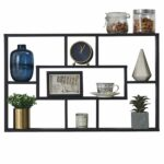 furniture inch geometric wall mounted floating oak cube shelves shelf with cubes ture display black finish drill brush canadian tire stone mantel shoe stand ikea will command 150x150
