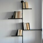 furniture interesting bookshelf target for inspiring interior unique floating with black wrought iron frame modern storage design bookshelves leaning bookcases tall ture wall 150x150