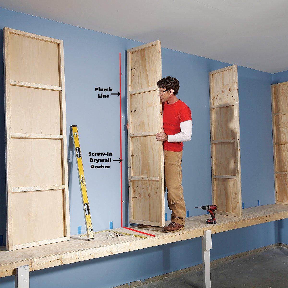giant diy garage cabinet floating storage attach uprights cabinets inch brackets triangle corner bookcase fermod shelving black island bench towel rail with shelf oak style adding