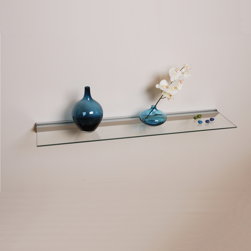 glass shelves clear inch floating shelf consider placing multiple different sizes across your wall space create stimulating look they come and deep box mantel peel stick vinyl