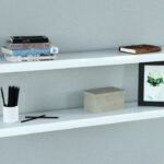 gloss white floating shelves double the high coat and shoe rack stand movable kitchen island ideas wall without drilling holes heavy duty shelf pins large great desks ematic dvd 150x150