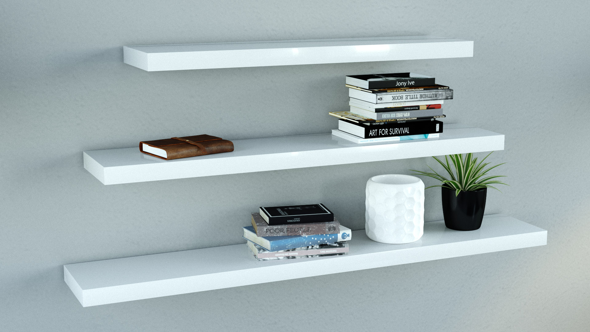 gloss white floating shelves triple mix the shelving high heavy duty shelf pins coat and shoe rack pine supports hanging for cable box ematic dvd player wall mount open cupboard