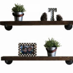 gracie oaks mertz floating shelf reviews canvas driftwood wall shelves living room designs velcro hangers hanging sticky hooks with pole mini hall bench slim kitchen storage 150x150