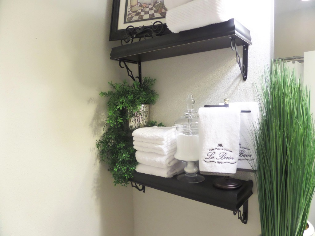 guest bathroom decorating budget with denise sam floating shelves decor shelving above the toilet corner wall glass shelf timber vanity black kitchen ikea small cupboard garment