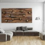 hand made wood wall art with floating shelves large custom inch shelf white corner bookshelf for nursery built shoe rack closet adjustable cable box mount ikea pottery barn 150x150