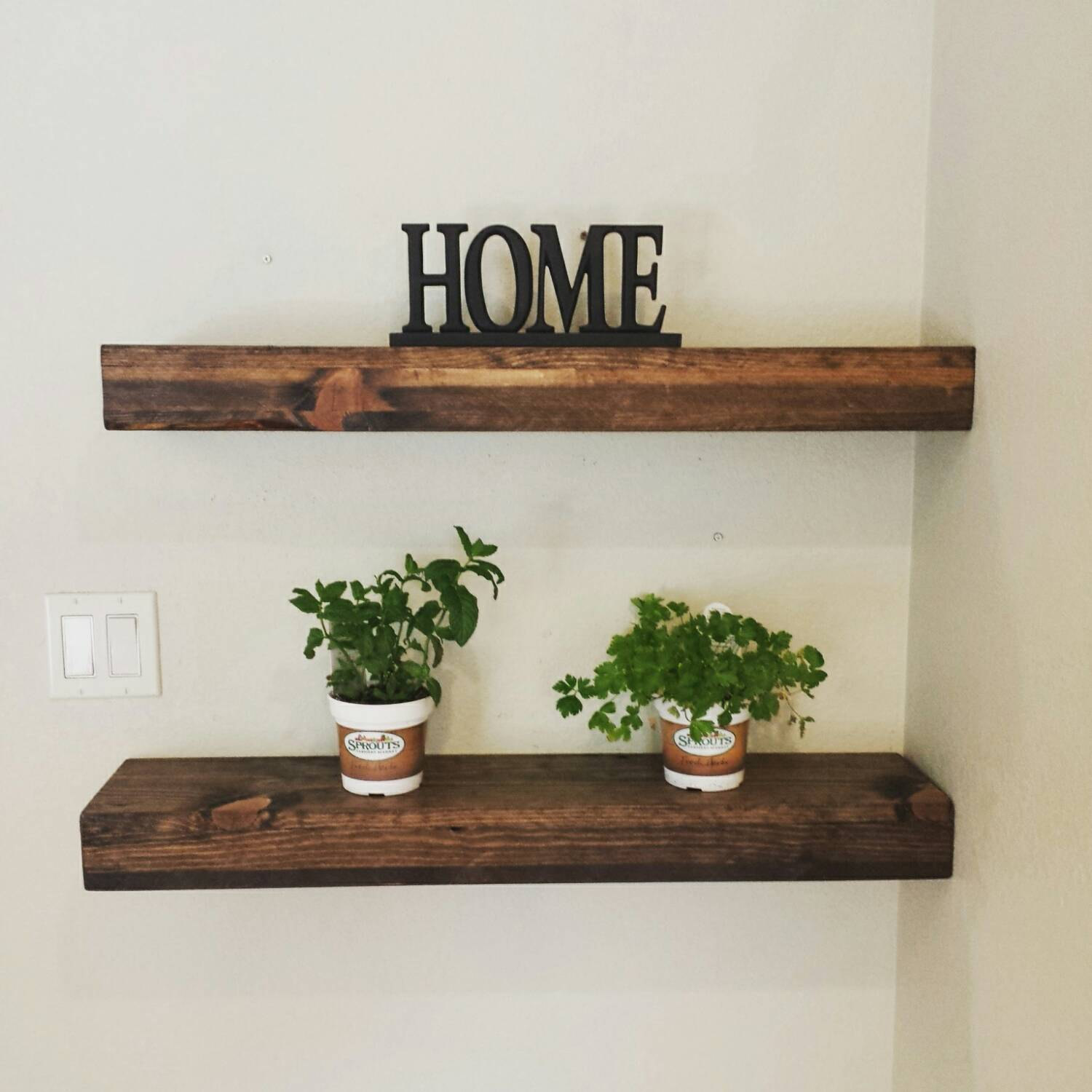 handmade rustic and reclaimed wood floating shelves mantel etsy fullxfull black walnut bathroom storage units audio component wall mount living room corner ideas ture book shelf