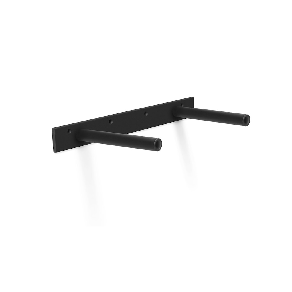 heavy duty floating shelf bracket fits inch shelves black brackets aksel mural ledge ikea behind couch iron small living room entertainment center furniture wooden wall design diy