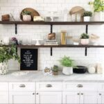 height floating kitchen shelves bigger than the three screen shot shelf open shelving design every davis moments everydavismoments long rustic wall pine mounted bookshelves best 150x150