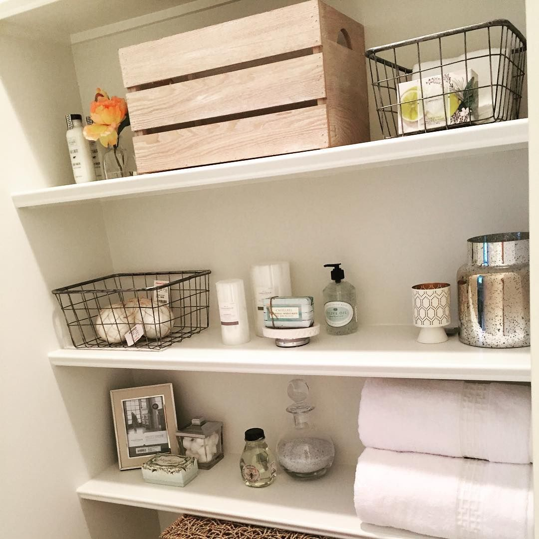 helping client style bathroom shelves today love bargain home bargains floating accessories homegoods target homegoodshappy targetdoesitagain computer tables desks kids book small