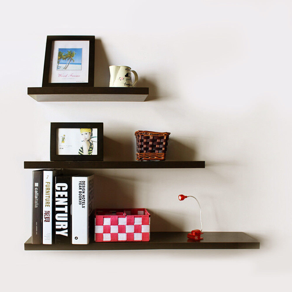 high floating wall mounted shelf display bookshelf storage black depth sneaker room ideas best corner shelves metal shelving with wood cool shoe cabinet ikea lack red hanging