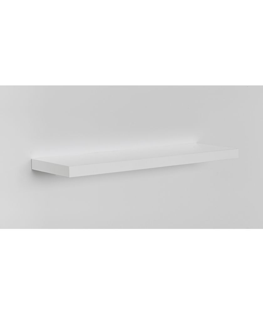 high gloss floating shelf white argos shelves for sky box short coat rack home computer desks small spaces bathroom sink cupboards sit basins shower hair trap feet putting down