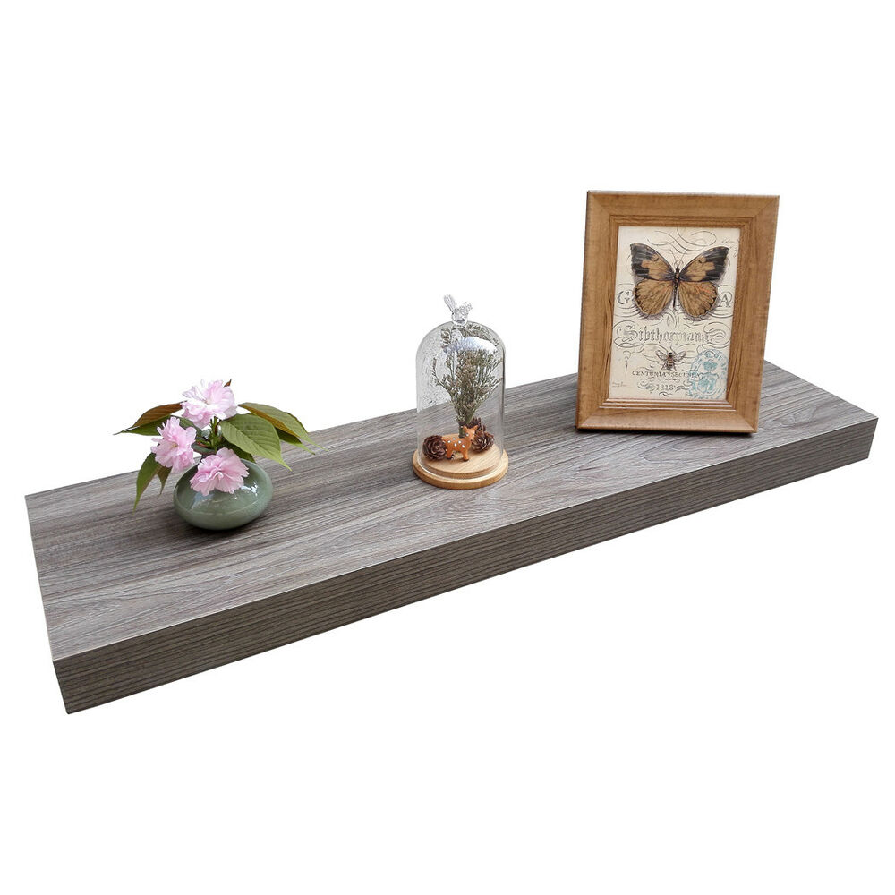 homewell wood floating shelves for home decoration grey details about makeshift shoe rack chandelier ceiling light small kitchen island with stools big ikea folding desk