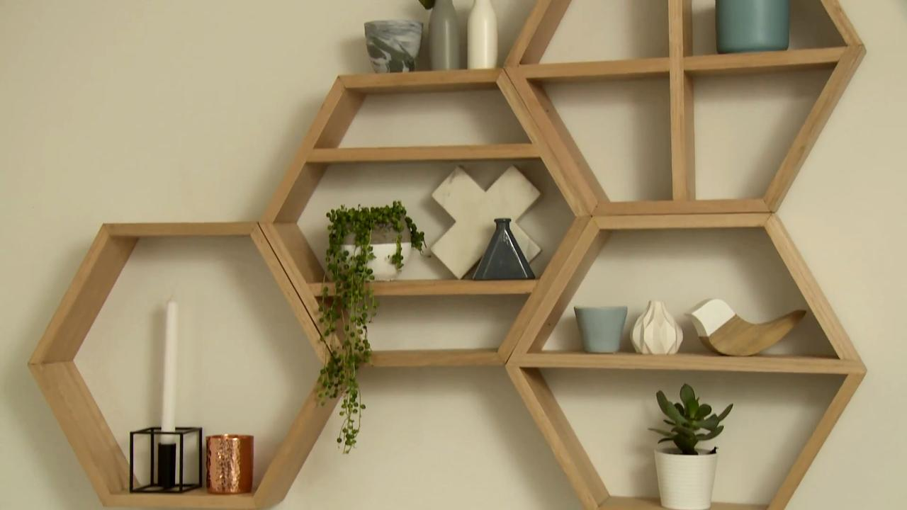 honeycomb floating wall shelves bunnings shelf mitre prepac sonoma entryway cubbie wickes white board ikea shelving and storage cool for bedrooms low wide unit inch raindance