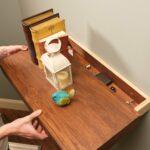 how build floating shelf with secret drawer family handyman floatingshelf lead and wrought iron wall coat rack corner kit wooden shelving units black desk office kitchen food 150x150