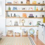 how build floating shelves for uneven walls shrimp salad circus white books wall wooden with and knick knacks them baskets small hanging bookshelf gloss shelf single unit home 150x150