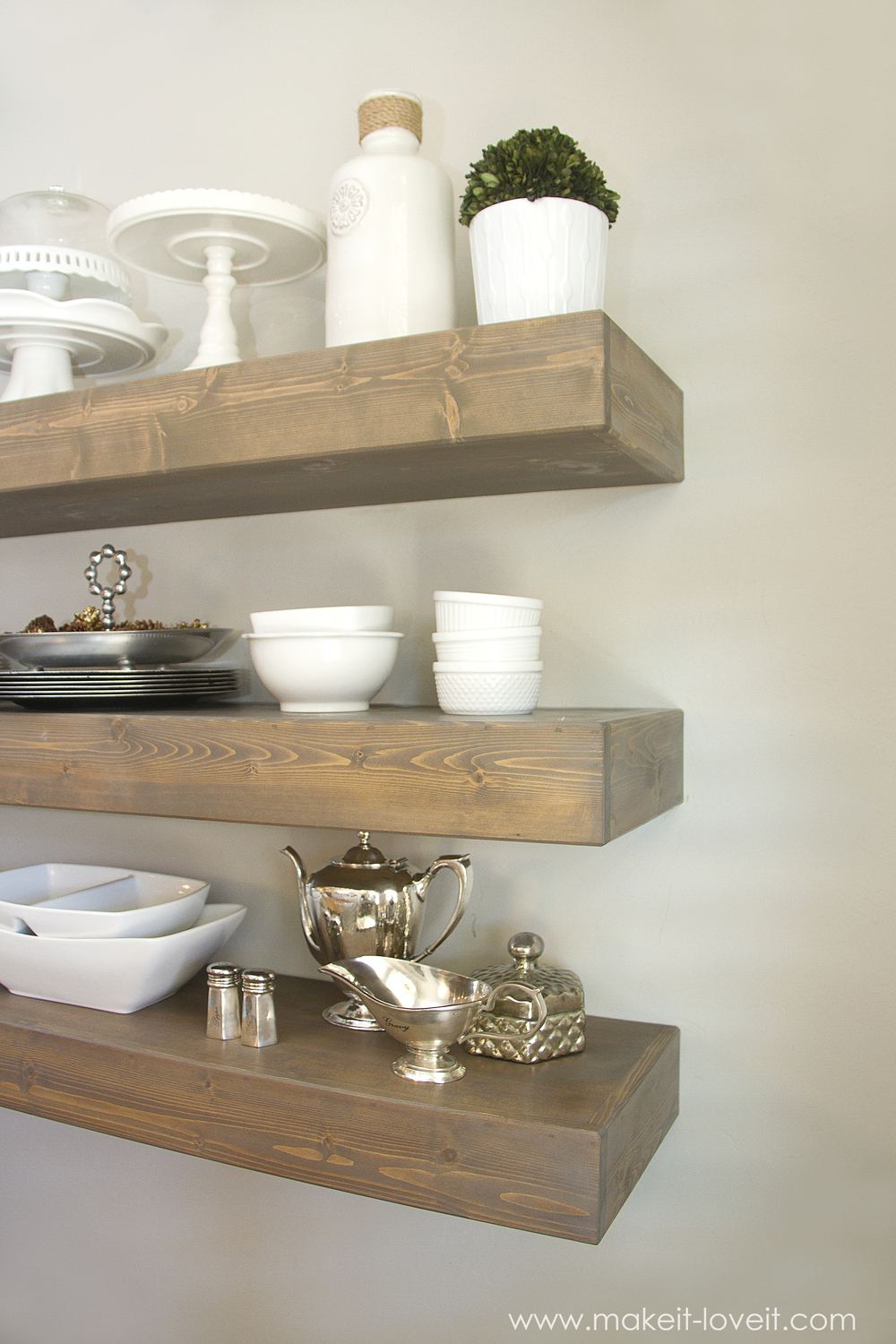 how build simple floating shelves for any room the house img inches deep bookshelf depth oak stove beams white kitchen with dark wood island ikea slim shelf drill set canadian