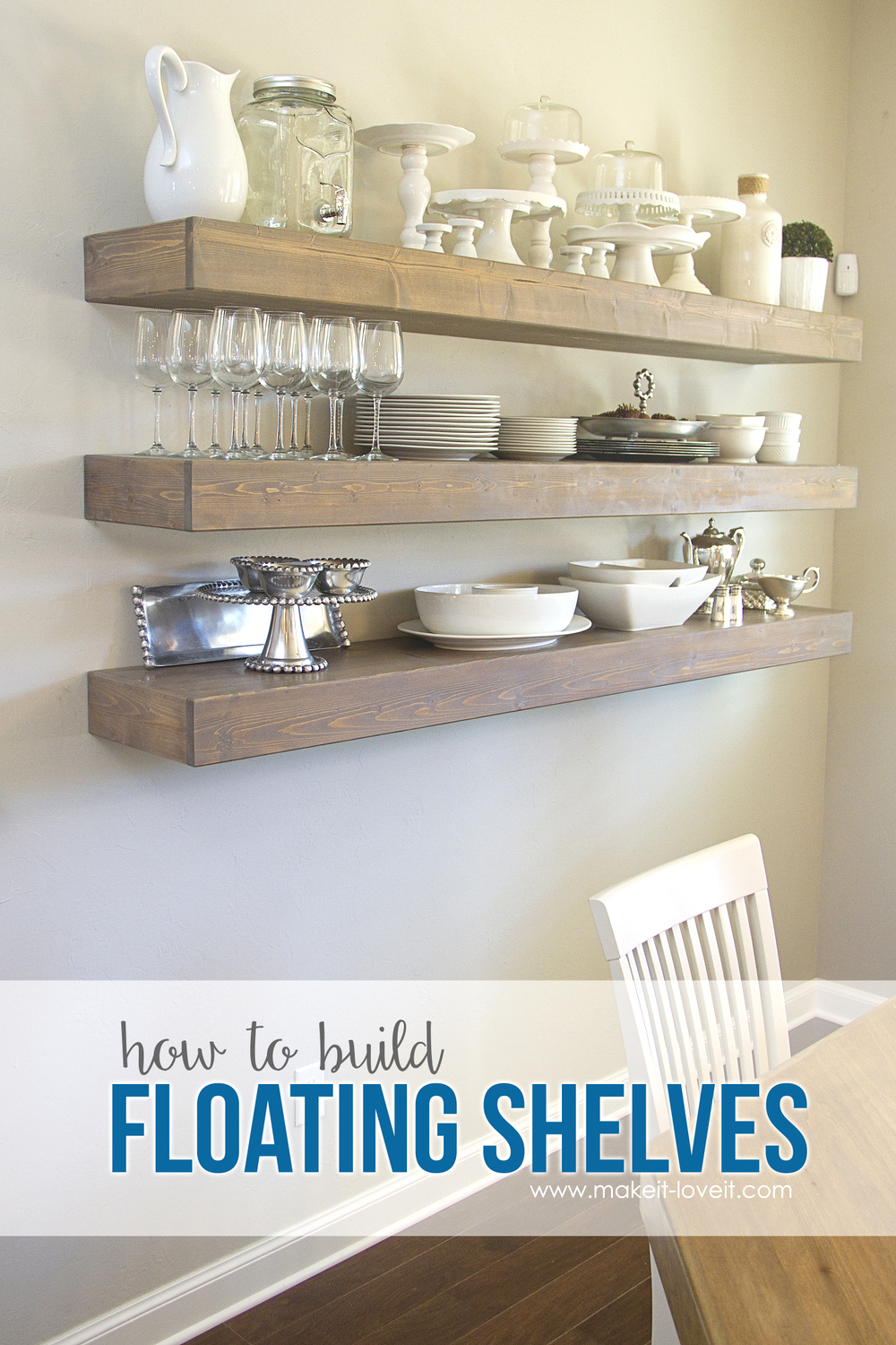 how build simple floating shelves for any room the house img inches deep velcro command strips weight keyhole shelving making kitchen cherry fireplace mantel shelf oak stove beams