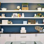 how built wall floating shelves myself for diy shelf mitre home office formal living room conversion white navy wickes board wood dvd player drawers decorative cubes ikea shelving 150x150